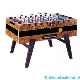 Garlando voetbaltafel DeLuxe export met muntinworp