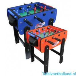 Roberto Sport voetbaltafel Roby Blauw/Rood