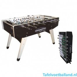TopTable Voetbaltafel Competition Pro *** Formica/Metal Line Folding