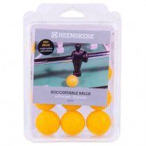 Roberto Sport Tafelvoetbal ballen glad-geel