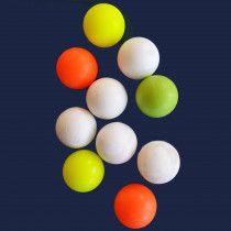 FAS Tafelvoetbal ballen 5 gekleurd en 5 wit