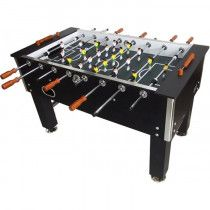 TopTable Voetbaltafel Big Black Carbon